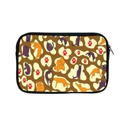 Face Cat Cute Purple Yellow Apple Macbook Pro 13  Zipper Case