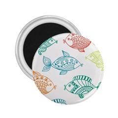 Fish 2 25  Magnets