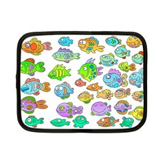 Fishes Col Fishing Fish Netbook Case (small)