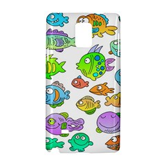 Fishes Col Fishing Fish Samsung Galaxy Note 4 Hardshell Case
