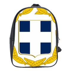 Coat Of Arms Of Greece Military Variant School Bags(large)
