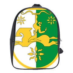 Coat Of Arms Of Abkhazia School Bags(large)