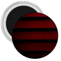 Line Red Black 3  Magnets