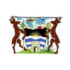 Coat Of Arms Of Antigua And Barbuda Cosmetic Bag (large)