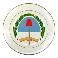 Coat Of Arms Of Argentina Porcelain Plates