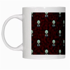 Bloody Cute Zombie White Mugs