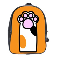 Cathand Orange School Bags(large)