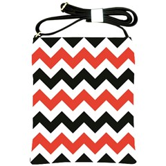Colored Chevron Printable Shoulder Sling Bags