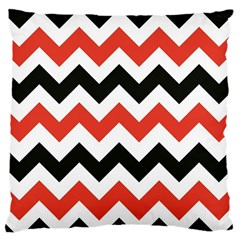 Colored Chevron Printable Large Flano Cushion Case (two Sides)