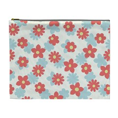 Flower Pink Cosmetic Bag (xl)