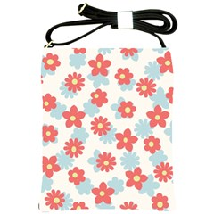 Flower Pink Shoulder Sling Bags