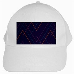 Line Color White Cap