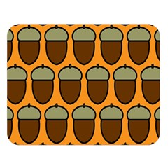 Acorn Orang Double Sided Flano Blanket (large)
