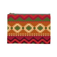 Background Plot Fashion Cosmetic Bag (large)