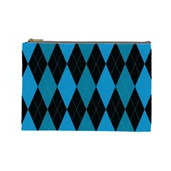 Fabric Background Cosmetic Bag (large)