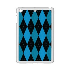 Fabric Background Ipad Mini 2 Enamel Coated Cases