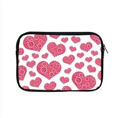 Heart Love Pink Back Apple Macbook Pro 15  Zipper Case
