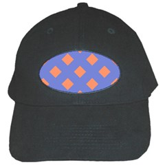 Orange Blue Black Cap