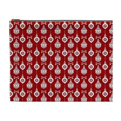 Light Red Lampion Cosmetic Bag (xl)