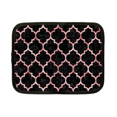 Tile1 Black Marble & Red & White Marble Netbook Case (small)