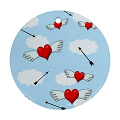 Love hunting Ornament (Round)