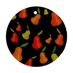 Pears pattern Ornament (Round)