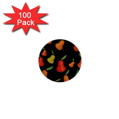 Pears pattern 1  Mini Buttons (100 pack)