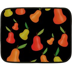 Pears pattern Fleece Blanket (Mini)