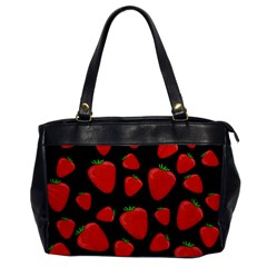 Strawberries pattern Office Handbags