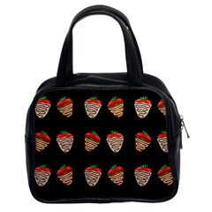 Chocolate strawberies Classic Handbags (2 Sides)