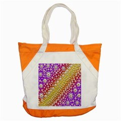 Falling Flowers From Heaven Accent Tote Bag