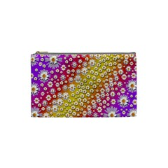 Falling Flowers From Heaven Cosmetic Bag (small)