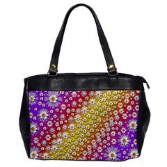 Falling Flowers From Heaven Office Handbags