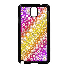 Falling Flowers From Heaven Samsung Galaxy Note 3 Neo Hardshell Case (black)