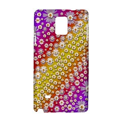 Falling Flowers From Heaven Samsung Galaxy Note 4 Hardshell Case