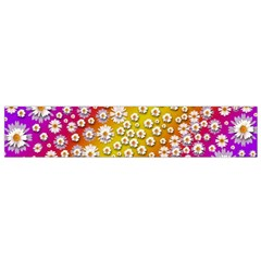 Falling Flowers From Heaven Flano Scarf (small)