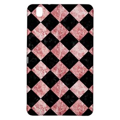 Square2 Black Marble & Red & White Marble Samsung Galaxy Tab Pro 8 4 Hardshell Case
