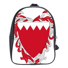 Emblem Of Bahrain School Bags(large)