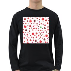 Beetle Animals Red Green Fly Long Sleeve Dark T Shirts