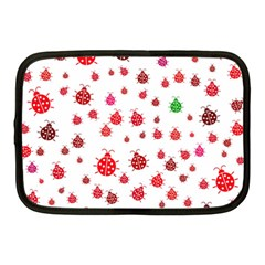 Beetle Animals Red Green Fly Netbook Case (medium)