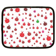 Beetle Animals Red Green Fly Netbook Case (large)