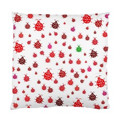 Beetle Animals Red Green Fly Standard Cushion Case (two Sides)
