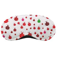 Beetle Animals Red Green Fly Sleeping Masks