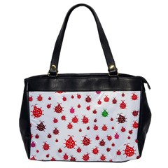 Beetle Animals Red Green Fly Office Handbags