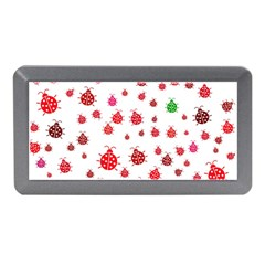 Beetle Animals Red Green Fly Memory Card Reader (mini)