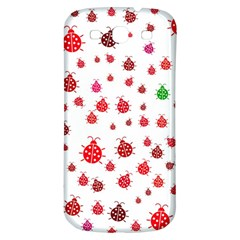 Beetle Animals Red Green Fly Samsung Galaxy S3 S Iii Classic Hardshell Back Case