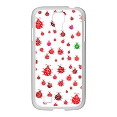 Beetle Animals Red Green Fly Samsung Galaxy S4 I9500/ I9505 Case (white)