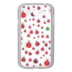 Beetle Animals Red Green Fly Samsung Galaxy Grand Duos I9082 Case (white)