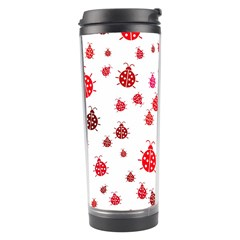Beetle Animals Red Green Fly Travel Tumbler