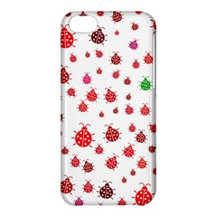 Beetle Animals Red Green Fly Apple Iphone 5c Hardshell Case